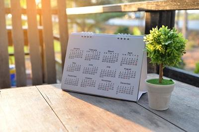 英語 カレンダー 日めくり 壁掛け 手帳 海外 祝日