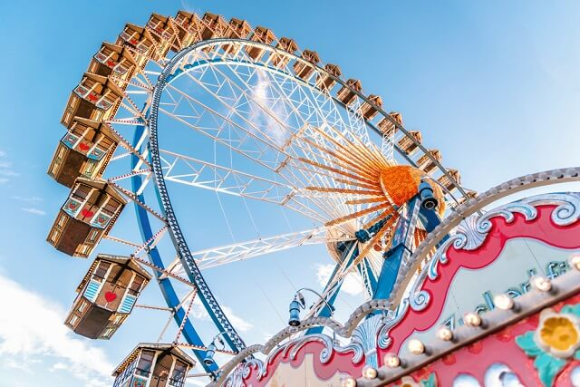 英語 観覧車 Ferris wheel 発音 読み方