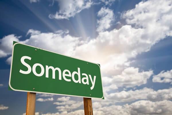 英語 いつか someday sometime one day きっとまたいつか いつか必ず